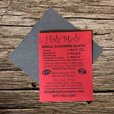 home holy moly small cleaning cloth holy moly small cleaning cloth 5 5 perfect for cleaning eye glasses