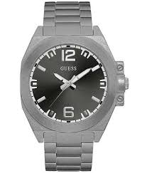 watches for men guess buckle guess distressed watch