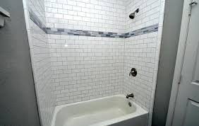 breathtaking beveled subway tile beveled subway tile dark grout beveled subway tile backsplash edge