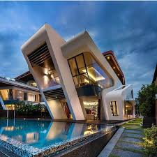 Villa Mistral by Mercurio Design Lab - Singapore modern homes modern architecture  house modern love this pool