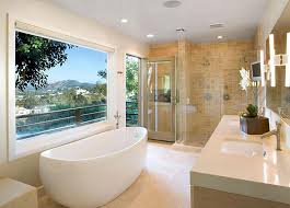 Low Maintenance Bathroom Design Styles Simple Large Bathroom Designs