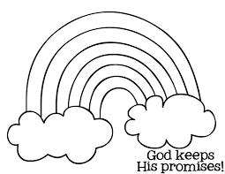 Small Picture Rainbow Coloring Page Coloring Image Of Rainbow Awesome Printable