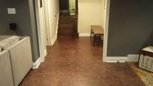 stylish sealed cork floor tiles best basement flooring ideas and options