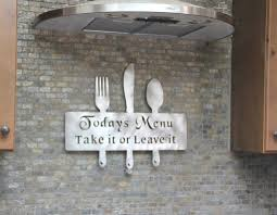 metal kitchen wall decor kitchen wall decor with some creative art joanne russo