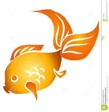 gold fish clip art.  Clip Isolated Goldfish Clip Art On Gold Fish
