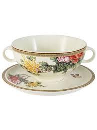 """<b>Суповая чашка на</b> блюдце """"Японский сад"""" IMARI 8394655 в ..."""