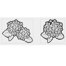 あじさい紫陽花フリーweb素材のイラスト画像集めてみた