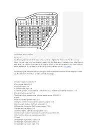 diagrama de fusibles jetta headlamp engines