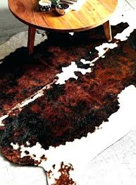 fake cowhide rug large size of faux cow hide black along with head zebra rugs skin faux rugs sheepskin cowhide