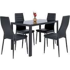Black Kitchen Table Gorgeous Kitchen Tables Walmart Black Round