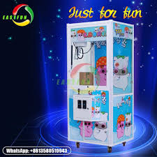 Toy Story Vending Machine Cool Attractive PP Tiger Toy Story 48 Vending Claw Crane Game Machine For