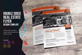 real estate flyer design flyer templates on creative market