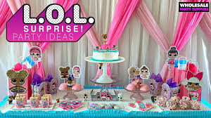Lol Surprise Birthday Party Supplies Wholesale Party Supplies