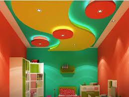 Gypsum Board Ceiling Designs 2018 Colorful Pop False Ceiling Design Plaster Of Paris Pop