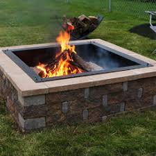 better homes and gardens fire pit. Sunnydaze Decor Square Heavy Duty Fire Pit Rim Liner - 30 Inch Inside Dimension Better Homes And Gardens H