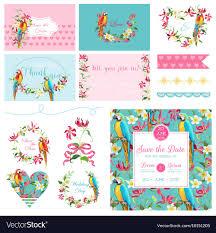 Art Design For Scrapbook Scrapbook Design Elements Wedding Tropical Flowers