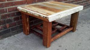 Image Of: Reclaimed Wood Coffee Table Square