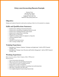 8 Entry Level Resume Samples Precis Format