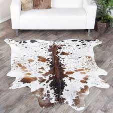 Small cow hide rugs Zebra Small Tricolor Spotted Brazilian Cow Hide Rug 223 275 Sq Ft Successbloginfo Shop For Small Tricolor Spotted Brazilian Cow Hide Rug 223 275 Sq