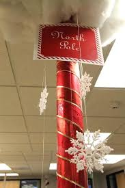 christmas decorating for the office. Fancy Office Christmas Decoration Pole Decorating Contest We Have Any Poles In Our For The A