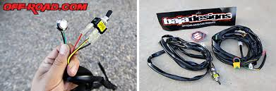 baja designs stealth xpg led bar video off road com the baja designs wiring harness includes the toggle switch for on off and momentary button