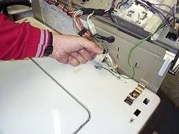 kenmore lid switch. check the lid switch [lid closed] with an ohm meter from wire plug-in leading to switch. if no continuity, replace kenmore