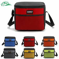 Portable Camping Cooler <b>7L</b> Lunch Bags Insulated Thermal Lunch ...