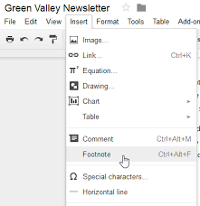 Google Docs Headers Footers And Page Breaks