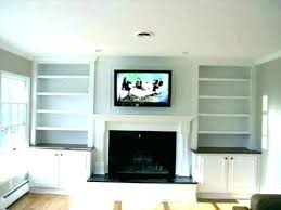 mounting above fireplace make that outdated hole vanish mount tv no studs over ray forum