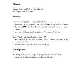 Generous Resume Tense Contemporary Example Resume Ideas