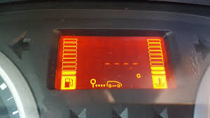 Renault Clio Warning Lights