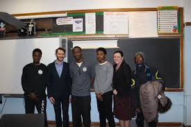 career days learning for the 21st century institute for student students of benjamin franklin high school for finance and it in cambria heights queens had the opportunity to ask many career based questions during the