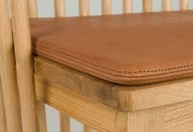 447 leather seat pad