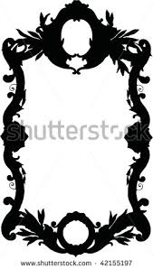 antique frame drawing. Oval Victorian Frames Drawing Antique Frame Silhouette Clipart Antique Frame Drawing