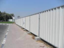 sheet metal privacy fence. R Panel Privacy Fence Saudi Arabia Sheet Metal
