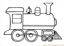 Small Picture Easy Train Coloring Pages Coloring Pages