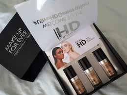 make up for ever ultra hd foundation makeup forever hd ings