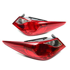 2011 Hyundai Sonata Rear Lights Car Rear Left Right Tail Light Red Brake Lamp For Hyundai Sonata 2011 2014