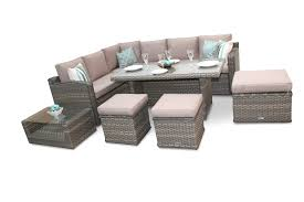 Buy Keter Iowa Rattan Effect 6 Str Dining Set  Graphite At Argos Argos Outdoor Furniture Sets