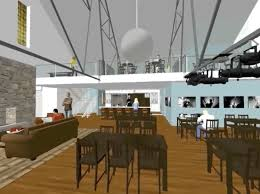 artist office. Artist Rendering Of The Renovations Art House Dallas Hopes To Make At Kidwell Building. Office