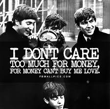 The Beatles Quotes Impressive The Beatles Cant Buy Me Love Lyrics Facebook Wall Pic FBWallPics