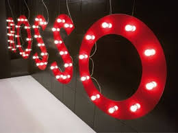 fun funky lighting. Giant Fairground Letters Fun Funky Lighting