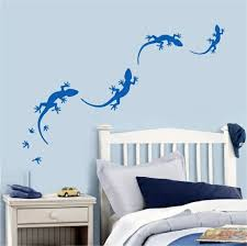 Wall Decal   Lizard Bedroom Wall Design   Creative Decorating Ideas