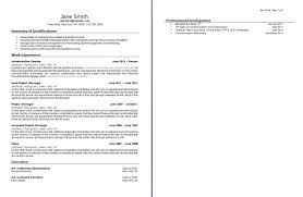 Parse Resume Sample Resume
