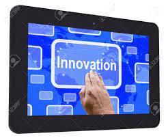 Innovation Tablet Touch Screen Meaning Ideas Concepts Creativity Stock  Photo, Picture And Royalty Free Image. Image 29054278.