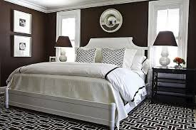 Marvelous Brown And White Bedroom.