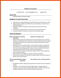 8 9 Administrative Medical Assistant Resume Formatmemo