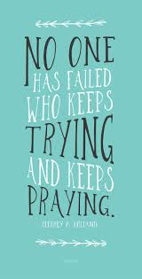 Success And Failure Quotes Classy Quotes About Success No One Has Failed Who Keeps Trying And Keeps