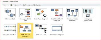 uml class diagram in  steps using microsoft visio uml model diagram