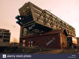 modern office building Wolkenbgel at Dusseldorf Media Harbour